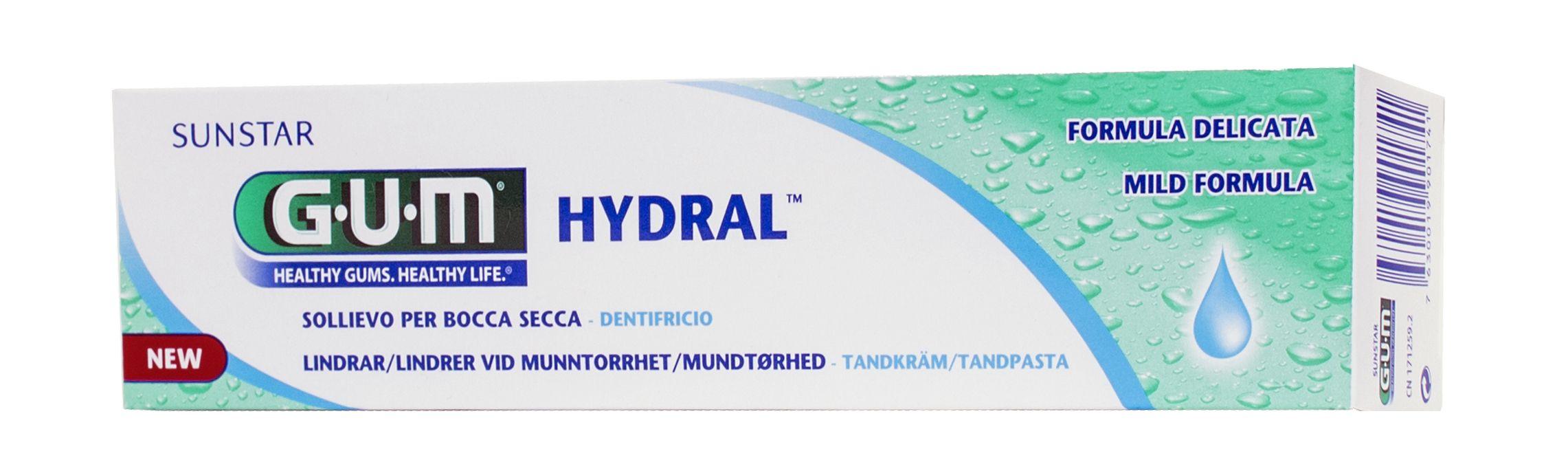 GUM Hydral, gel, fugtgivende, 50 ml