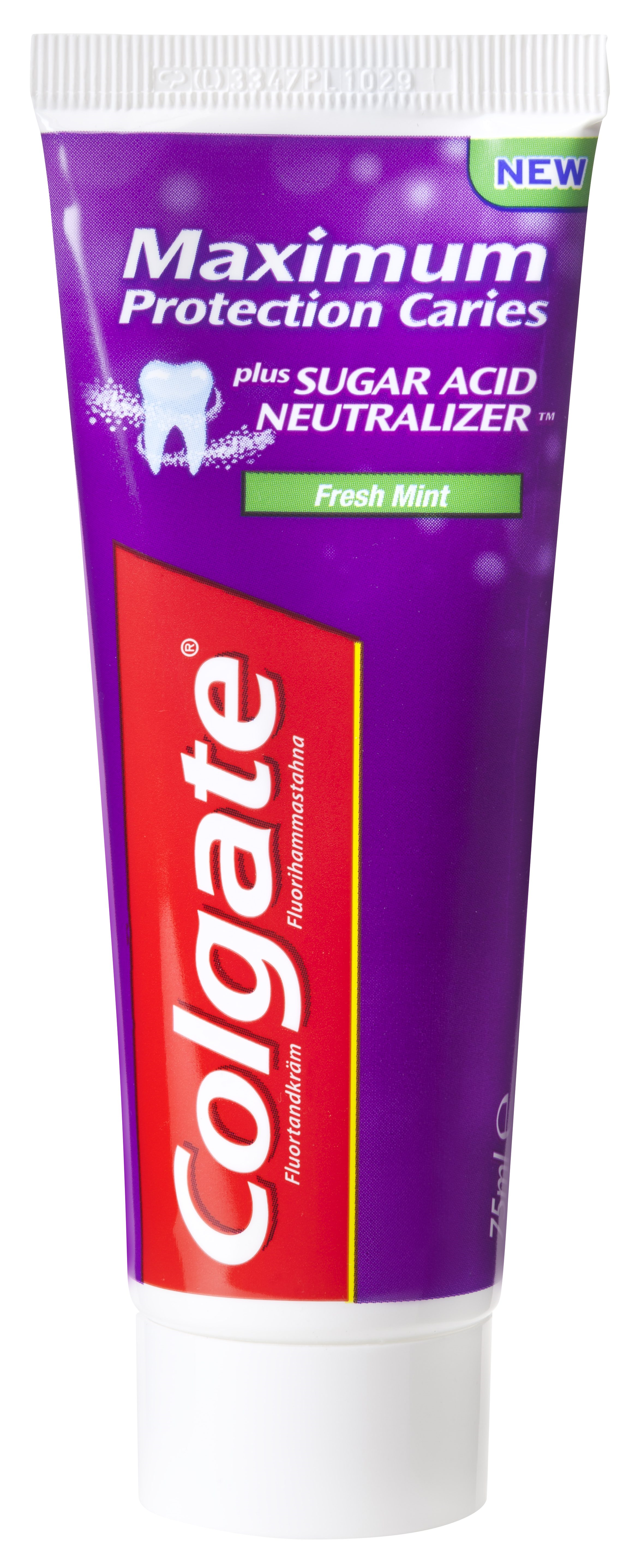 Colgate, Max. protec. Caries, stå tube, 75 ml