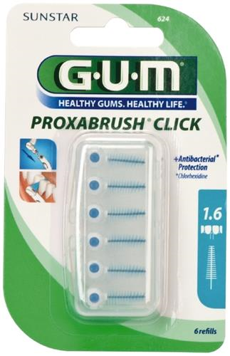 GUM Proxa, CLICK, iso 5, 1.6 mm, 6 stk