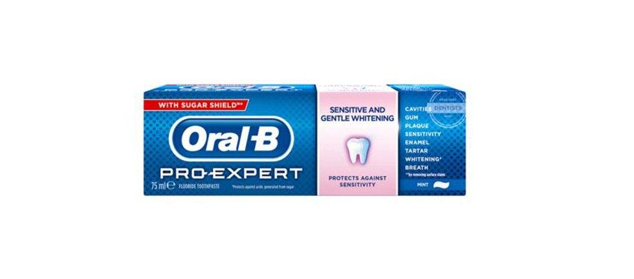 Oral-B, tandpasta, ProExpert Sensitive/White, 75 ml