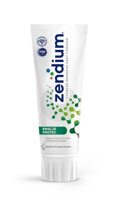 Zendium, tandpasta, Emalje Protect, 75 ml