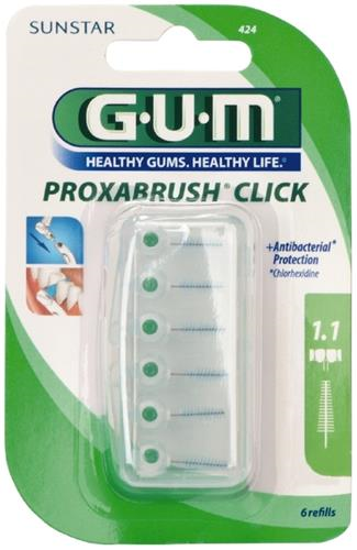 GUM Proxa, CLICK, iso 3, 1.1 mm, 6 stk