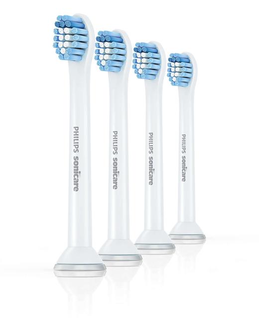 Philips, Sensitive, compact, børstehoved, 4 stk