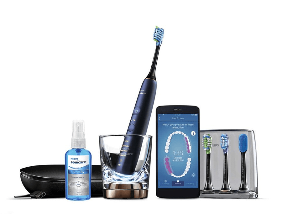Philips, Smart DiamondClean, el-tandbørste, blå