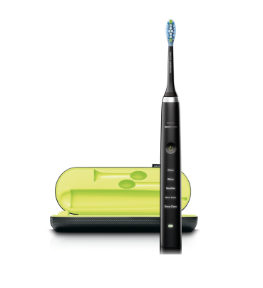 Philips, DiamondClean, slim, sort, 1 stk