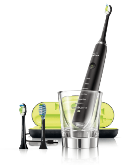 Philips, el-tandbørste, DiamondClean, sort, 1 stk