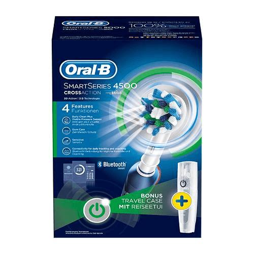 Oral-B, el-tandbørste, Smart 4500 sensitiv